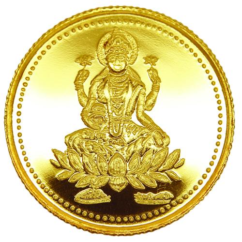 img-1GM Laxmi Gold Coin 22K 916
