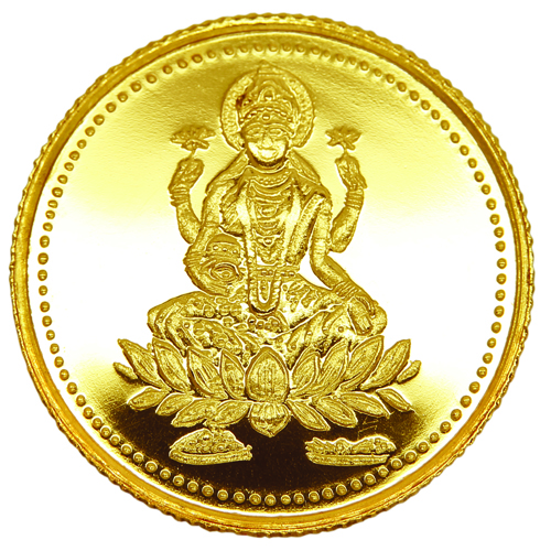 img-8GM Laxmi Gold Coin 916
